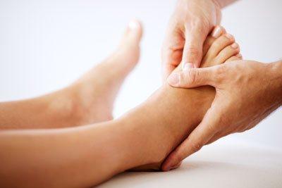 Fussreflexzonen-Massage in der Praxis Zürich